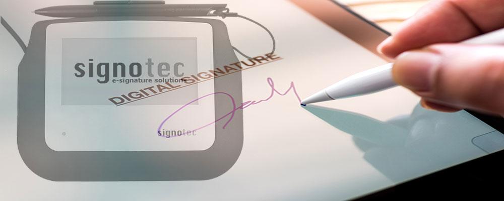 پد امضای دیجیتال، در حال بهره برداری در دفاترخدمات قضایی، زندان ها، بانک ها و ...