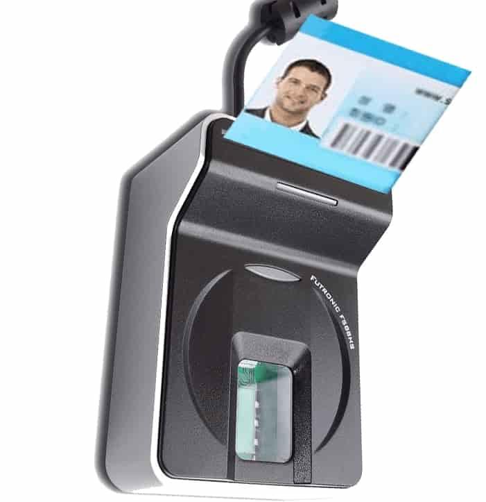 دستگاه اثر انگشت کارتخوان فوترونیک